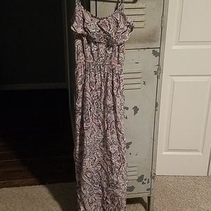 Pretty paisely print maxi dress